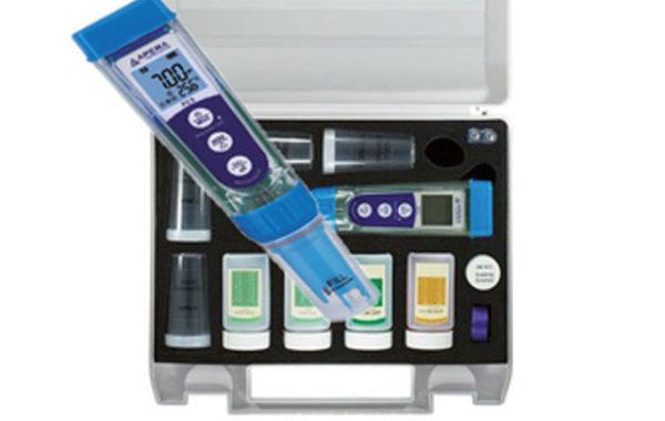 pH, EC, TDS, աղայնության և ջերմաստիճանի չափիչ սարք – PC5